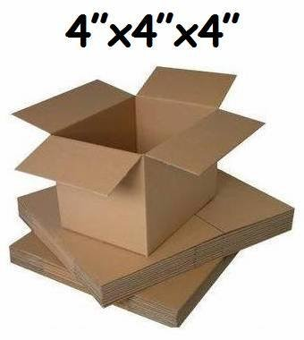 Scatole di cartone per spedizioni postali, formato piccolo, 10 pezzi, 10 x 10 x 10 cm Globe Packaging