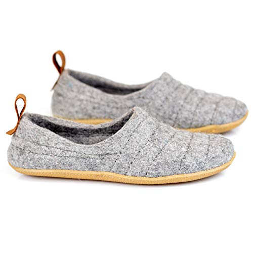 b1c17e7a9e4 BureBure Natural Wool Women Slippers Cocoon Handmade in Europe