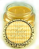 Tyler Candles - Paris Scented Candle - 11 Ounce 2 Wick Candle