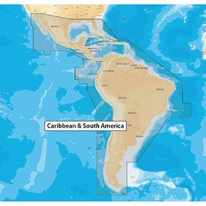 Navionics Updates - Caribbean & South America - microSD/SD by Navionics