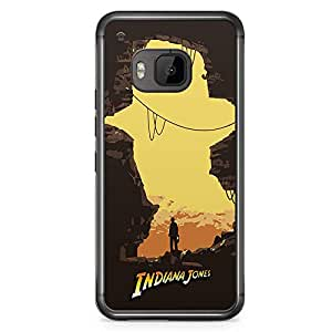 Loud Universe Artowrk Movie Poster HTC M9 Case Indiana Jones HTC M9 Cover with Transparent Edges