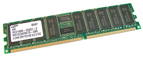 Samsung - Samsung 512MB PC2100 CL2.5 ECC Memory M312L6420ETS-CB0 ()