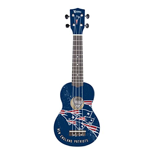 Woodrow Guitar by The Sports Vault NFL New England Patriots Ukulele