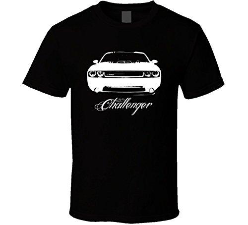 2014-dodge-challenger-shaker-hood-grill-view-model-dark-color-shirt-l-black