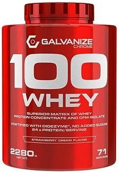 Proteina 100 Whey 2280 Grs - Galvanize Nutrition, FRESA ...