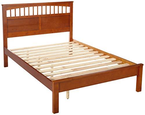 24/7 Shop at Home 247SHOPATHOME IDF-7904OAK-F Youth Bed, Full, Oak