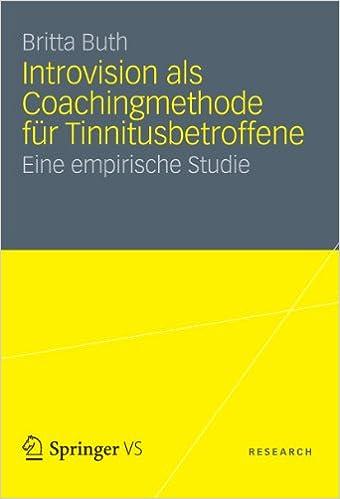 Anglais ebooks pdf téléchargement gratuit Introvision als Coachingmethode für Tinnitusbetroffene: Eine empirische Studie (German Edition) PDF iBook B00A9YGSQC