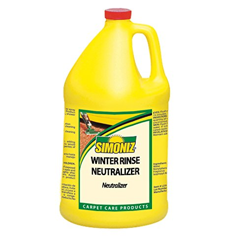 Simoniz W4115004 Winter Rinse Neutralizer, 1 gal Bottles per Case (Pack of 4)