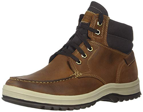 Rockport Men's World Explorer Moc Toe Boot, tan, 11 M US ()