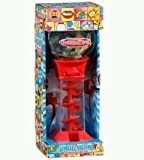 Gumball Spiral Dispenser with Gumballs By BubbleKing (colours may vary)