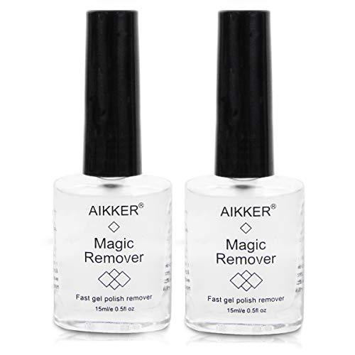 2pcs Magic Remover Set Soak-Off UV Gel Nail Polish Burst Remove Professional Fast Nail Art Acrylic Clean Removal AK08