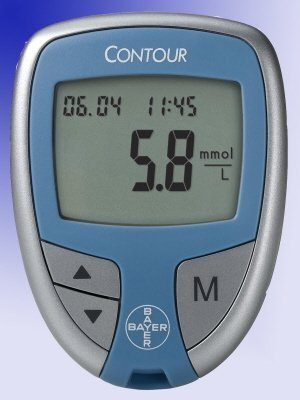 CONTOUR Blood Glucose Meter - Bayer Diabetes 7151