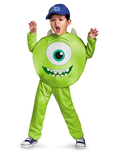 Mike Toddler Classic Costume - Toddler (Monsters Inc Costume Women)