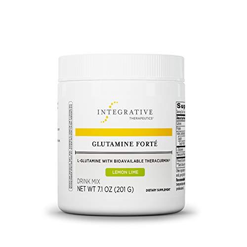 Integrative Therapeutics – Glutamine Forté – L-Glutamine with Bioavailable Theracurmin – Lemon Lime Flavor – 7.1 oz