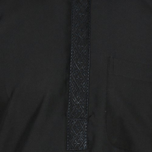 Kurta -  Abito  - Uomo Nero Black 52