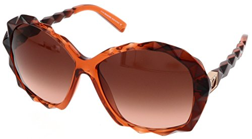 Swarovski Crystal Logo Sunglasses (SWAROVSKI for woman sk0002 (AMAZING) - 44F, Designer Sunglasses Caliber)