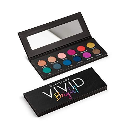 Bodyography Vivid Bright Eyeshadow Palette (Vivid Eyeshadow Palette)