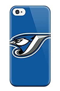 Perfect Toronto Blue Jays Case Cover Skin For Apple Iphone 4/4S Case Cover Phone Case