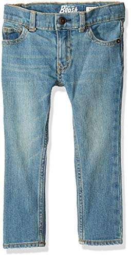 Osh Kosh Boys' Little Skinny Jeans, Tumbled Light Wash, 10R
