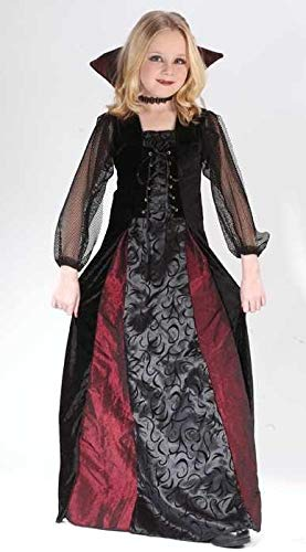 Goth Maiden Vampiress Kids Costume