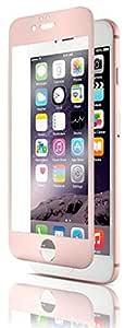 Qdos Optiguard Glass Screen Protector for iPhone 6/6s - Titanium Rosegold
