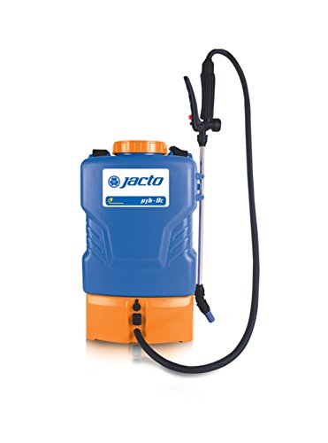 Jacto PJB-8c Backpack Sprayer, Blue Battery Garden Sprayers