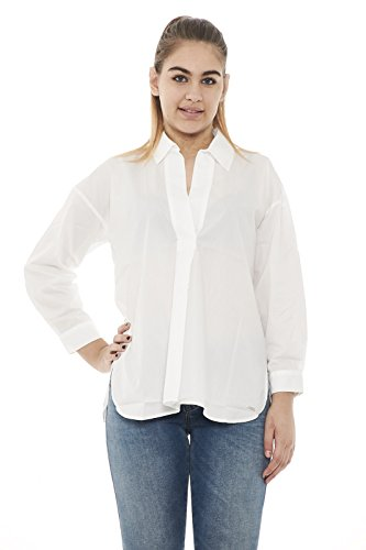 Blusa Wwcam0662 Donna Bianco Shirt Woolrich Summer Polo fRngBT