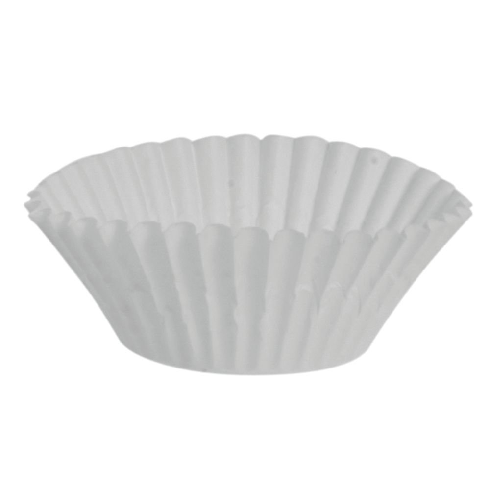 Cupcake Liners White Mini Paper Baking Cups - 3 1/2''Dia x 1''D 10000 per Case by PATERSON PACIFIC PARCHMENT CO