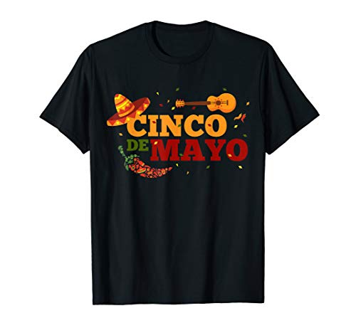 Fiesta Cinco De Mayo T-Shirt Cinco De Mayo Costume Gift idea]()