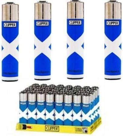 Bandera de Escocia cuatro mecheros clipper - por MV Shop Ltd.: Amazon.es: Hogar