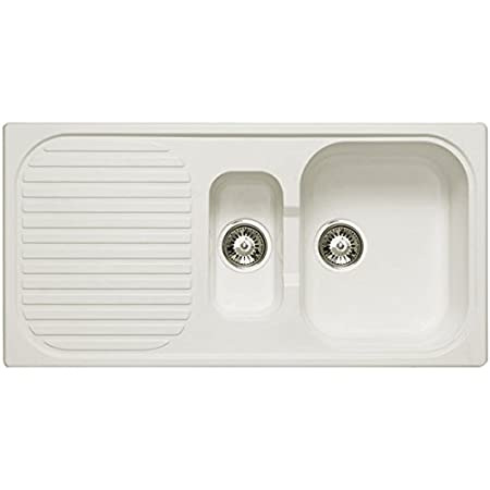 Astracast Kitchen Sinks Astracast 15 bowl composite kitchen sink in opal white reversible astracast 15 bowl composite kitchen sink in opal white reversible workwithnaturefo