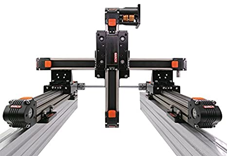 XYZ Gantry System Linear Stage Belt Drive 600 x 600 x 300