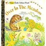 img - for Over in the Meadow: A Nursery Counting Rhyme (A First Little Golden Book) book / textbook / text book
