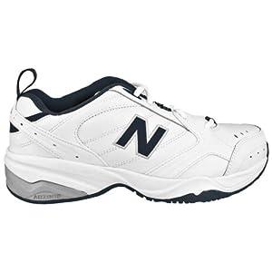 New Balance Men's MX624v2 Casual Comfort Training Shoe, White/Navy, 12 D US
