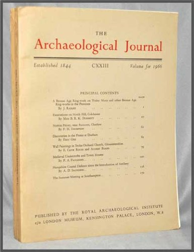 The Archaeological Journal, Volume CXXIII (1966)