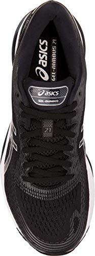 ASICS Gel-Nimbus 21 Men's Running Shoe, Black/Dark Grey, 6 D US by ASICS (Image #4)