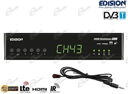 Edision Hdmi Modulator Xtend Hdmi To Dvb T Hdmi Loop Elektronik