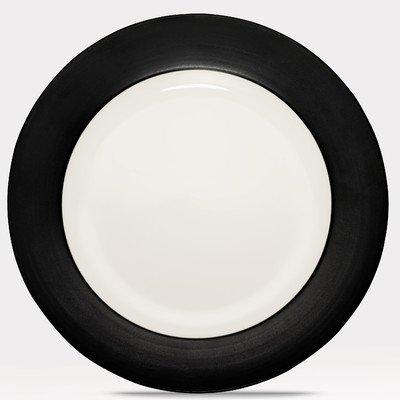 Noritake Colorware Graphite Rim Round Platter (Noritake Stoneware Platter)