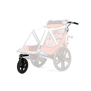 """Bellelli Kit conversione in passeggino versione Urban per B-Travel con ruota da 12"""" girevole a 360° e maniglione"""
