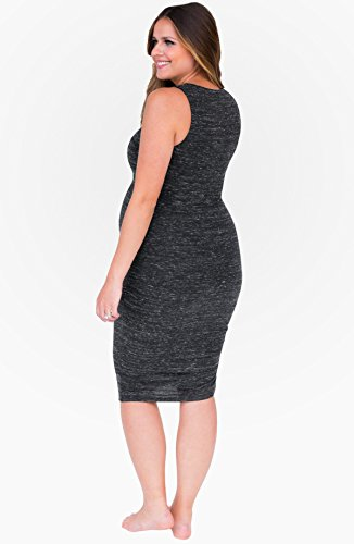 PERFECT NURSING DRESS CHARCOAL SMALL by Belly Bandit (Image #3)