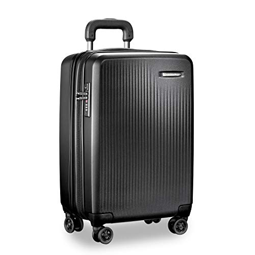 Briggs & Riley Tall Carry-on Expandable Spinner, Black
