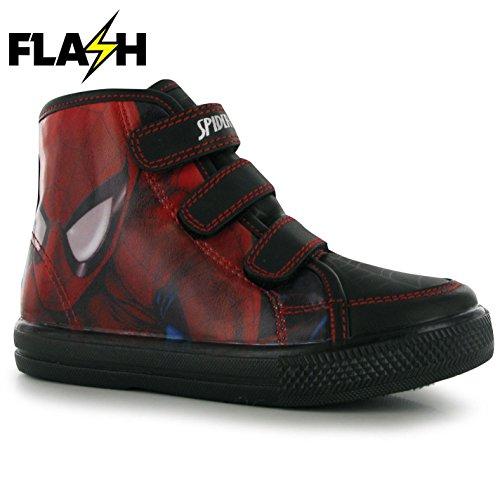 Spiderman , Jungen Sneaker mehrfarbig rot / schwarz