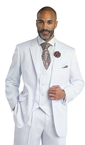 White Tuxedo Stripe - 2