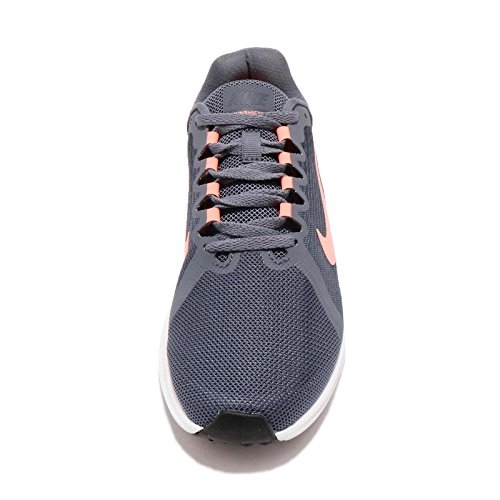 Crimson Running Grigio Women's NIKE Grigio Carbon Blue thunder Pulse Downshifter 8 Light Shoes x1xpS