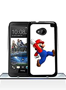 Designer Style Super Mario HTC One M7 Funda Case, Funny Style For HTC One M7 Funda Case, Ultra Thin Hard Plastic + Anti Dust [Ultra Hybrid] Drop Protection With Special Design, Ckholy HTC One M7 Funda Case's Shop
