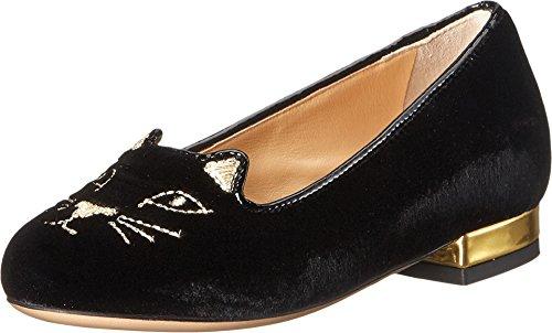 charlotte-olympia-incy-kitty-flats-toddler-little-kid-black-gold-velvet-metallic-calf-womens-flat-sh