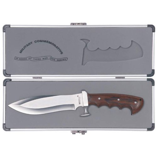 11 1/2″ Maxam Military Bowie Knife with Case, Outdoor Stuffs