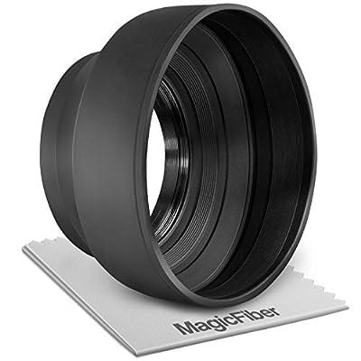 Lens Hood / Collapsible Rubber Lens Hood Individual