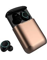 Auriculares Bluetooth Kingsky Auriculares Verdaderamente Inalámbricos Mini Auriculares In-Ear Auriculares sin cables con Control Táctil y Manos Libres