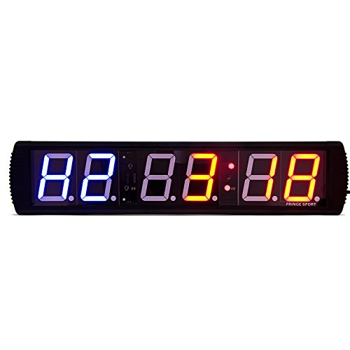 4 or 6 Digit Interval Clock Timers / Clock Display, Stop Watch, and Intervals. ... (6-Digit Large)